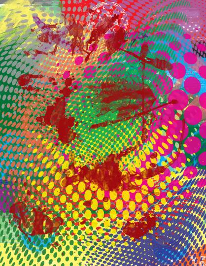 Abstract Pop Art 2