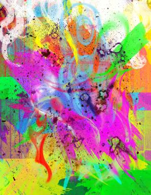 Abstract Pop Art 7