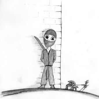 Bob the Ninja Hiding